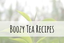 Boozy Tea Recipes / Tea and alcohol are a match made in heaven. This board is dedicated to tea infused mixology.