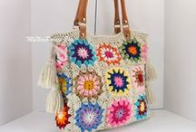 bags / Bags & cases. Knitted & crochetted.
