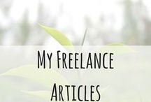 My Freelance Tea Articles / I do freelance writing outside of my blog and this is where you can find those articles.