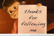 *Message Board* / Thank you pinners for following me and contributing to my boards !!!!      ★You make pinning so much fun !★