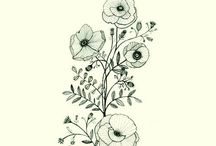 Flowers and stuff I want on my skin
