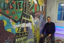 Mosaic Mozaik / Poseidon Mozaik Atölyesi üretimleri.