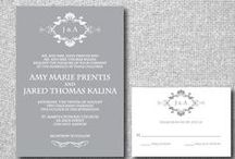 DIY Wedding Invitations / Inspiration for creating your own wedding invitations, whether you feel crafty or not!