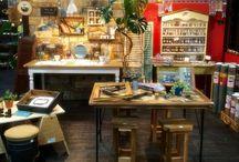 tukuriba / 二子玉川の髙島屋ガーデンアイランド内の体験型DIYショップtukuribaのスタッフによるDIY。 店舗の什器も丸ごとスタッフのDIY! 毎日DIY作品が生まれています!