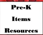 prek- k items / pins of prek - k activities