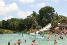 Water Parks in Florida / Man-made amusement parks and natural springs! A variety of ways to cool of this summer, fitting a variety of budgets.