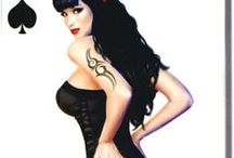 Vintage - Pin Up - Rockabilly