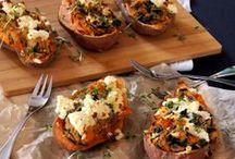 Süßkartoffel-Rezepte / herzhafte und süße Rezepte um und mit Süßkartoffeln (sweet potatoes)