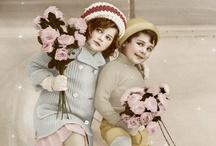 Winter vintage images
