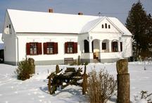 Winter in the Őrség / Őrség, Magyarország, Hungary