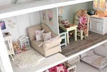 DollHouse/Barbies / by Lissy V