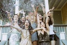 Bachelorette Party / Don't just hang out with the girls. Make it a big deal! You only get one chance at this exciting time in your life! Make it special with some of these fun ideas for bride and bridesmaids!