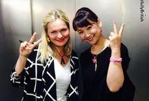 Anna Lou loves Japan