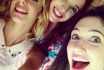 Violetta y Francesca y Camila / o 3 najlepších kamarátkach ,ktoré stvárajú sprostosti.