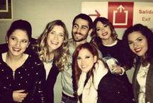 Cande y Lodovica y Alba y Clara (y Martina). / Bude to Camile,Francesce,Naty,Angie a Violette ale v skutočnosti.