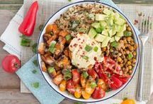 || HEALTHY DINNERS || / Healthy vegan, plant-based dinners, made from whole foods that look delicious.