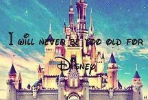 Disney  / I LOVE Disney so freaking much