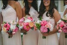 Bouquets / The bouquet you carry at your wedding is one of the most photographed floral elements of the day. We love the lush blooms our clients and their wedding party carry adding a personal statement to compliment their fashion. These bouquets are a collection were carried at A Day in May Events celebrations!