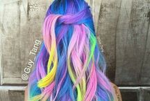 Colorful Hair / Hair for the ones who loves to go wild!