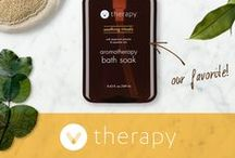 V Therapy - Essential Oil Infused Aromatherapy / This is our new line of four distinct essences made from botanical extracts and infused with essential oils to balance the mind, body & spirit. #aromatherapy