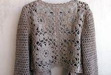 Βελονάκι: ζακέτες παλτά  Crochet JACKETS, COATS