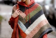 εσάρπα σάλι τουνίκ γιλέκο πλεκτά / Εξωτερικά ρούχα γυναικεία σχέδια κυρίως πλεκτά, όπως εσάρπες, σάλι, τουνίκ, γιλέκα ή ζιλέ