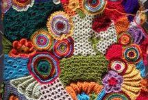 Βελονάκι: πλέξιμο χωρίς φόρμες, FREEFORM CROCHET