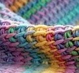 Βελονάκι ειδικό: Τυνησιακή πλέξη Tunisian crochet