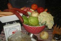 Minha Gastronomia / Uma parte dos meus preparados para Almoços & Jantares, geralmente a dois.