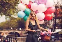 Balões ♡ / Mel amor por ♡Balões de Gás Hélio representado em imagens, que inclusive, me fazem desejar reproduzir cada uma das situações captadas pela lente do fotógrafo.