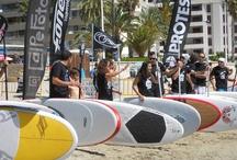 Competición Paddle SUP en Calpe