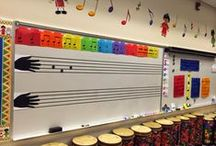Music Classroom Decor / Ideas for how to decorate a music classroom