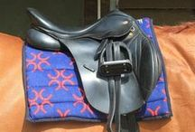 Horse Saddle Pad / Super soft and thick Snuggy Saddl