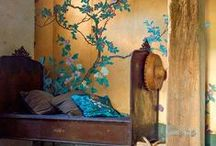 Interior and Exterior Decor Frenzy / Home and office decorating of varying styles; both interior and exteriors.