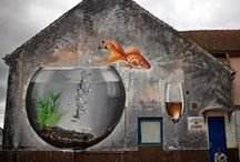 Street Art / Art in Public Spaces from spectacular talented creatives