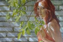 Paintings: Contemporary Figurative