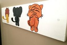 A Child's Space / Handmade Decor, wall plaques and more for a Child's Room or Play Room