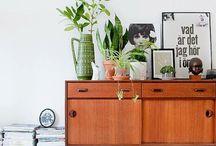 Interieur / Ideeen opdoen voor meubels, printjes, accessoires, kleuren