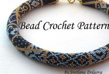 Crochet bead rope / Crochet bead rope