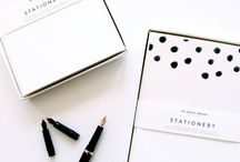 // Stationery // / This board has pins on stationary and planners