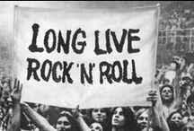 I Love Rock 'n' Roll / The title of this board says it all.  LOVE rock 'n' roll...always have, always will!  Long live ROCK!!! / by Kim Ewert-Toth