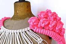 Macrame, Weaving, Knitting, & Crochet / Yarn arts. Braiding. Knotting. Fashion & Textiles / by Taylor Hansen