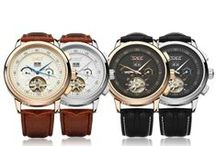 Men's Mechanical Watches / Mechanical Watch is considered as the symbol of a man's identity. Owing a superior one and wearing it, you'll be out of the ordinary! martEnvy.com offers you varieties of mechanical watches to choose. Not only do they have good quality and affordable price, but also they are used the latest design, which are bound to help you earn good comments.