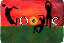 GOOGLE / Todos los Doodles de Google hasta 2010. All Google Doodles until 2010. Tous les Doodles de Google jusqu'en 2010.