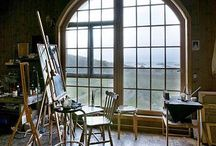 Studio Envy / Enviable studios - Aspirations for my own space