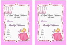 Birthday Party Invitations - FREE Printables / Let us help you by offering our free printable birthday invitations collection. Your kids and their friends will be truly inspired by these stylish birthday invitations. All you have to do then is to customize the invitations with your child's name, print out at home and send them off!