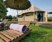 Glamping / Wir zeigen euch, wo es die schönsten Plätze für Glamping gibt: glamorous camping weltweit.