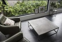 CONCRETE COFFEE TABLES by Lyon Béton / Coffee table made out of Concrete are perfect to give a modern and minimalist touch to your interior.