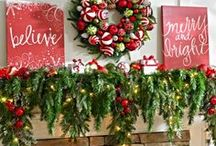 Decked for the Holidays / Ideas for Christmas decorations.