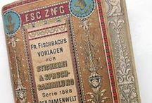 Stitchery XI: Friedrich Fischbach / Antique blackwork and cross stitch patterns designed by Friedrich Fischbach.